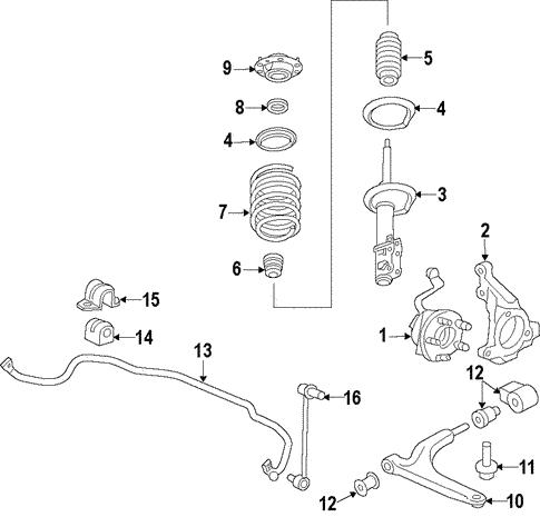 Buick Verano Front Suspension Diagram Wiring Diagram And