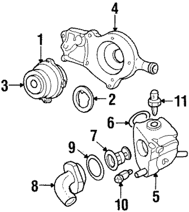 Thermostat Housing Oring Ford W701379s300: 2002 Ford Focus Thermostat Diagram At Daniellemon.com
