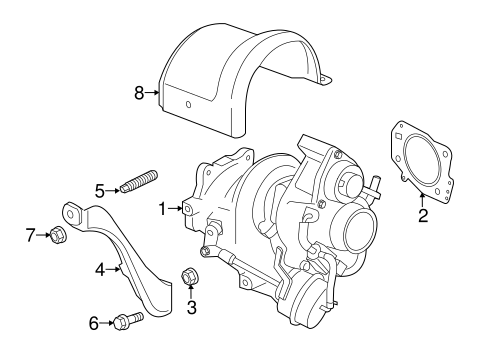 Turbocharger Components For 2013 Buick Verano