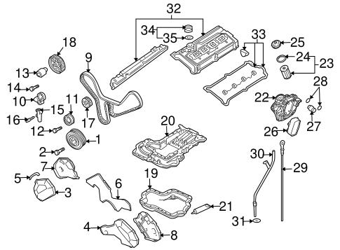 Engine Parts for 2004 Audi A8 Quattro | Genuine Audi PartsGenuine Audi Parts and Accessories