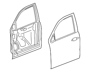 Door Shell - GM (84348727)