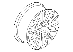 Wheel, Alloy - Ford (DS7Z-1007-G)