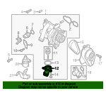 Thermostat Housing - Audi (06J-121-121)