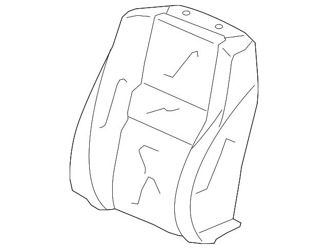 Honda Genuine 82180-TA6-A01ZB Seat Armrest Assembly Rear