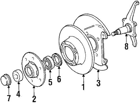 Mazda B2000 Interior