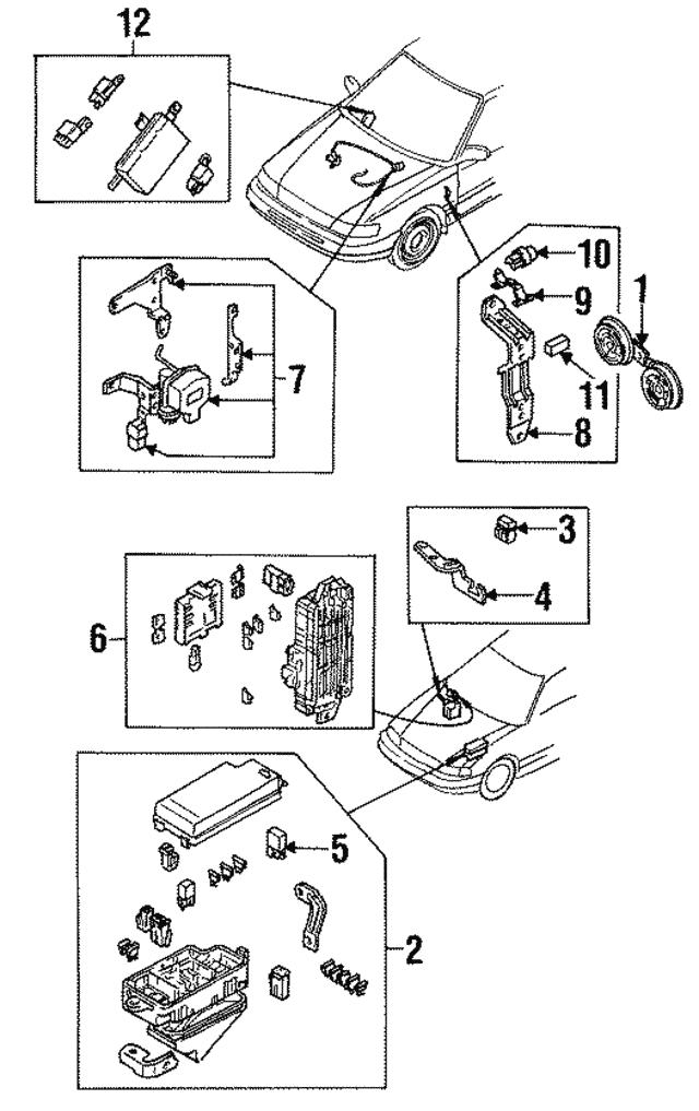 [WQZT_9871]  1992-1994 Subaru Legacy Fuse Box 82215AA050 | World OEM Parts Subaru | Fuse Box 1994 Subaru Legacy |  | World Suzuki Subaru Parts - World OEM Parts