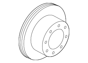 Rotor - Ford (BC3Z-2C026-A)