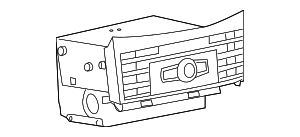 Radio - Mercedes-Benz (212-900-45-12)