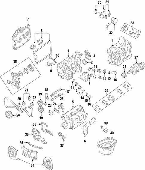 Engine for 2010 Subaru Forester   Subaru Parts StoreSubaruparts.com