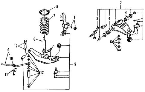 front suspension for 1989 lincoln town car. Black Bedroom Furniture Sets. Home Design Ideas