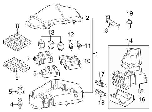 21013 Vw Touareg Fuse Box Diagram