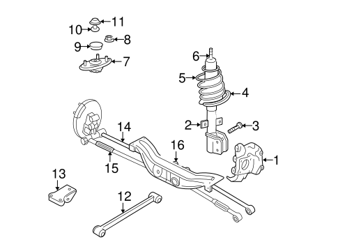 Chevy Impala Rear Suspension Diagram