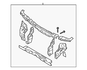 Radiator Support - Kia (0K52Y-53100A)