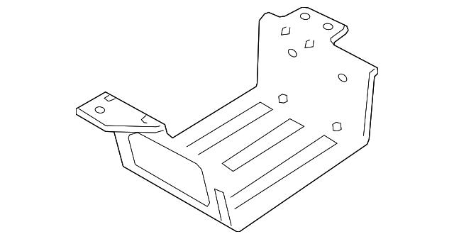 vapor canister bracket