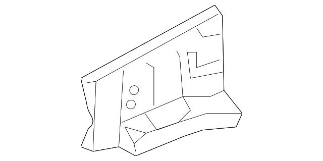 Toyota 55714-02080 Cowl Panel