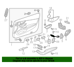 Trunk Switch - Mercedes-Benz (205-905-17-13-8R73)