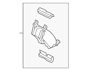 Brake Pads - Ford (FU2Z-2V200-E)