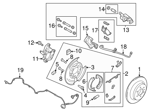 Brakes/Parking Brake for 2014 Ford F-150 #1