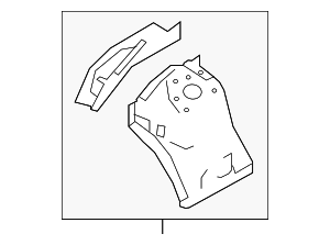 Apron Assembly - Nissan (64101-9NB0A)
