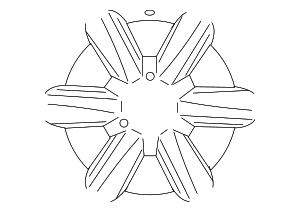 Wheel, Alloy - Lexus (4261A-WY010)