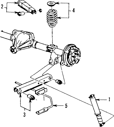 Rear Suspension For 1986 Chevrolet Caprice