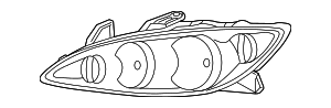 Composite Headlamp - Toyota (81150-06180)
