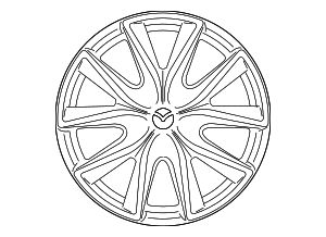 Wheel, Alloy - Mazda (9965-26-7090)