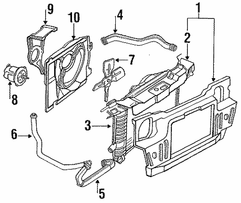Diagram Ford Tempo