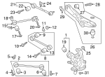 Lateral Arm And Ball Joint Assembly - Ford (JL1Z-5500-D)
