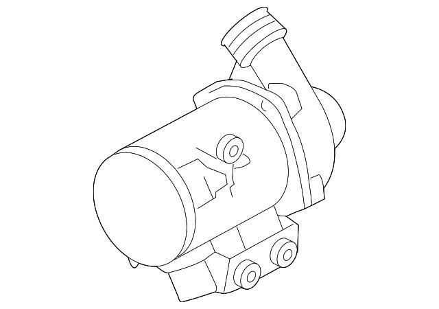 Genuine Bmw Water Pump 11 51 7 586 925