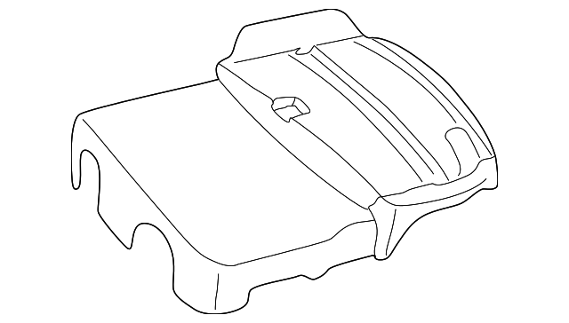 Genuine Mercedes-Benz Front Cover 111-010-02-67
