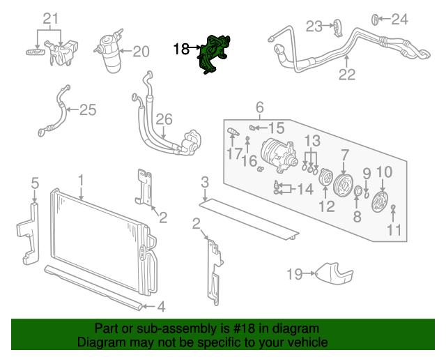 Compressor mount bracket gm 24508127 quirk parts for General motors assembly line job description
