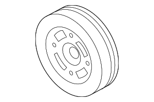 Crankshaft Pulley - Subaru (12305AA460)