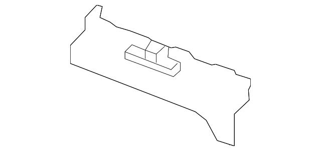 Left Front Genuine Hyundai 85873-4Z500-NBC Step Plate Trim