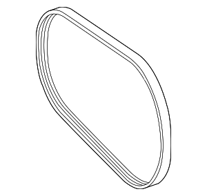 Serpentine Belt - Mercedes-Benz (002-993-67-96)