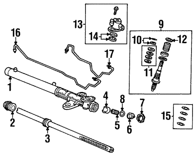 Rack Guide - Isuzu (5862032390)