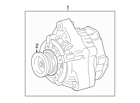 Genuine Oem Alternator Parts For 2015 Toyota Tundra Trd Pro