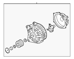 Alternator - Volkswagen (04B-903-023-A)