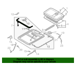 Air Deflector - Volkswagen (3D5-877-651-B-B41)