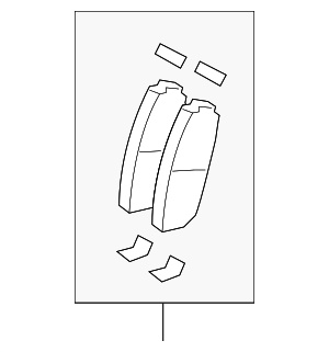Brake Pads - Ford (BT4Z-2001-B)