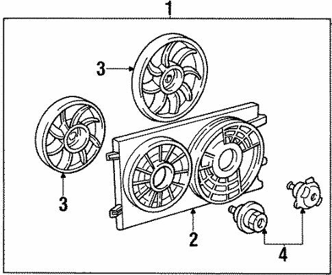 cooling fan for 2001 ford windstar schultz ford lincoln parts 2002 Ford Windstar Radio cooling fan for 2001 ford windstar