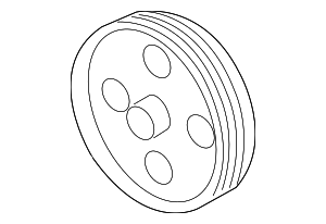 Pulley - GM (12605507)
