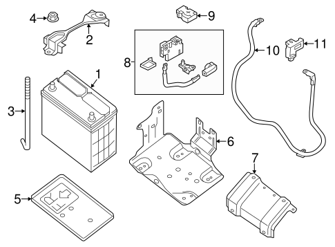 Battery For 2017 Nissan Leaf