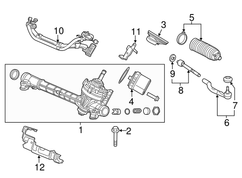 Bolt, Gear Box Mounting