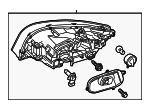 Headlamp Assembly - Volvo (31420287)