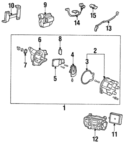 Bracket, Ignition Coil