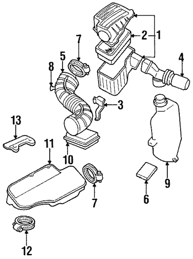 Part Can Be Found As Reference 11 In Illustration: Pontiac Sunfire 1998 Engine Diagram At Obligao.co