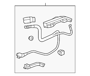 Cable Assembly, Starter - Honda (32410-T2G-A00)
