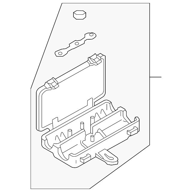 2006 Audi A8 Fuse Box