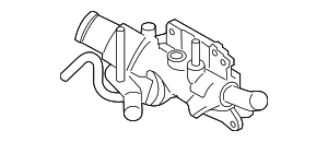 Water Outlet - Nissan (11060-3RC1A)